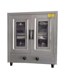 Four à gaz Tivoli 60 cm gris